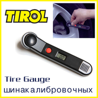 TIROL T20300 Digital Tire Pressure Gauge Mini 100 PSI LCD Car Bike Motor Tyre Air Pressure Gauge Free Shipping