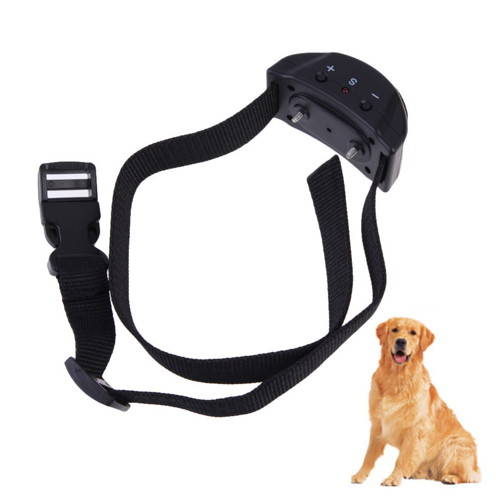Hot Sale No Bark Collar Anti Barking 7 Levels Dog Training Shock Collar Dogs Trainings Training & Behaviour Aids For Lovely Pets(China (Mainland))