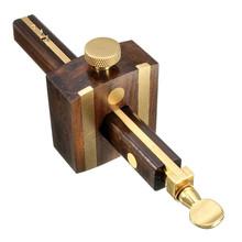 Hot Sale Luxury British Indonesia Ebony+Pure Copper Wearproof Carpenter Woodworking Tool 8INCH Screw Cutting Gauge Mark Scraper