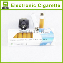 Hot sale Electronic Cigarette With 10pcs Refills Blister Kits USB Rechargeable Environmental E-cigarette Health e cigar