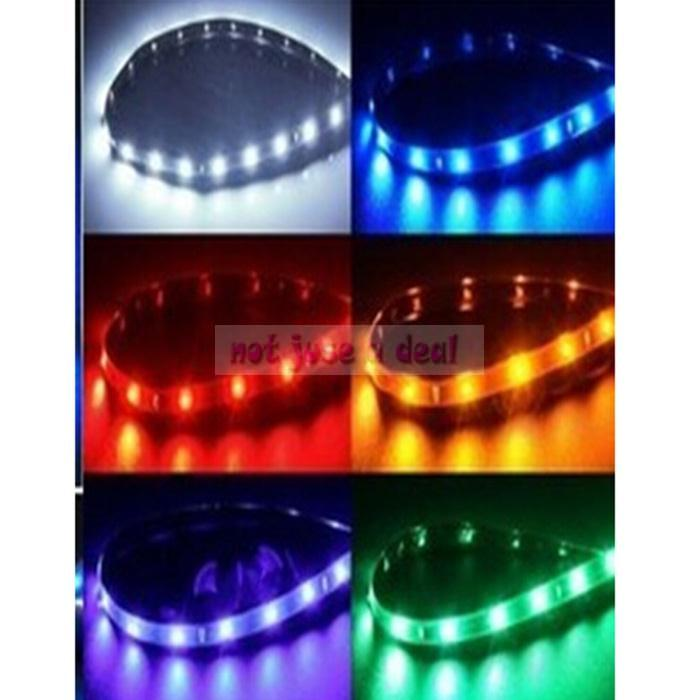 New pretty five color 30cm 12v flexible waterproof led - Neon led 12v ...