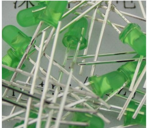 Free shipping 3mm green to green ultra bright light emitting diode Led Diode 1000pcs/lot in stock(China (Mainland))