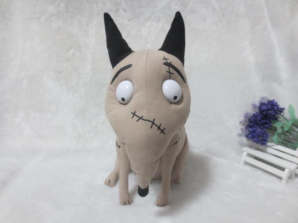 Original Frankenweenie Sparky Dog Animals Kids Plush Toys Stuffed Dolls For Children 27CM<br><br>Aliexpress