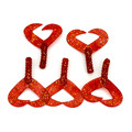 5pcs lot 6cm 3g Best Seller Twin Tail Red Worm Soft Fishing Lures Freshwater Lure Fishing