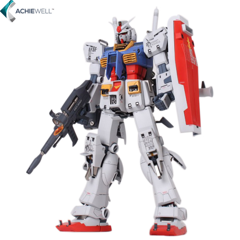 Brand Daban Assemble Gundam Model MEGA 1/48 RX-78-2 Original GUNDAM Acition Figure ABS Robot Gun and Shield Toys(China (Mainland))