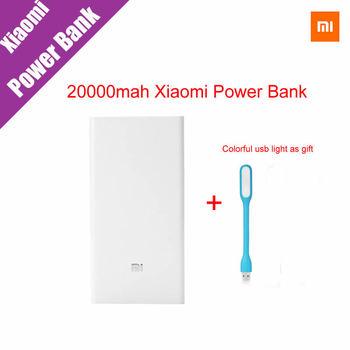 Original Xiaomi Mi Power Bank 20000mAh New Portable Mobile Power Bank MI Charger 20000mAh Dual USB For Phone,Netbook