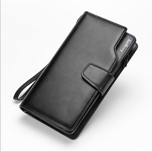 Baellerry Brand Genuine Leather Men Clutch Bag Business Designer Men Handbag Multi card Bit Large Capacity