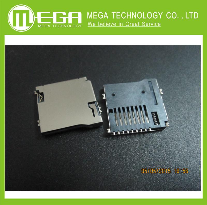 Электронные компоненты 10 microsd, MicroSD Card socket электронные компоненты sop8 sop16 msop8 tssop8 ssop8 dip16