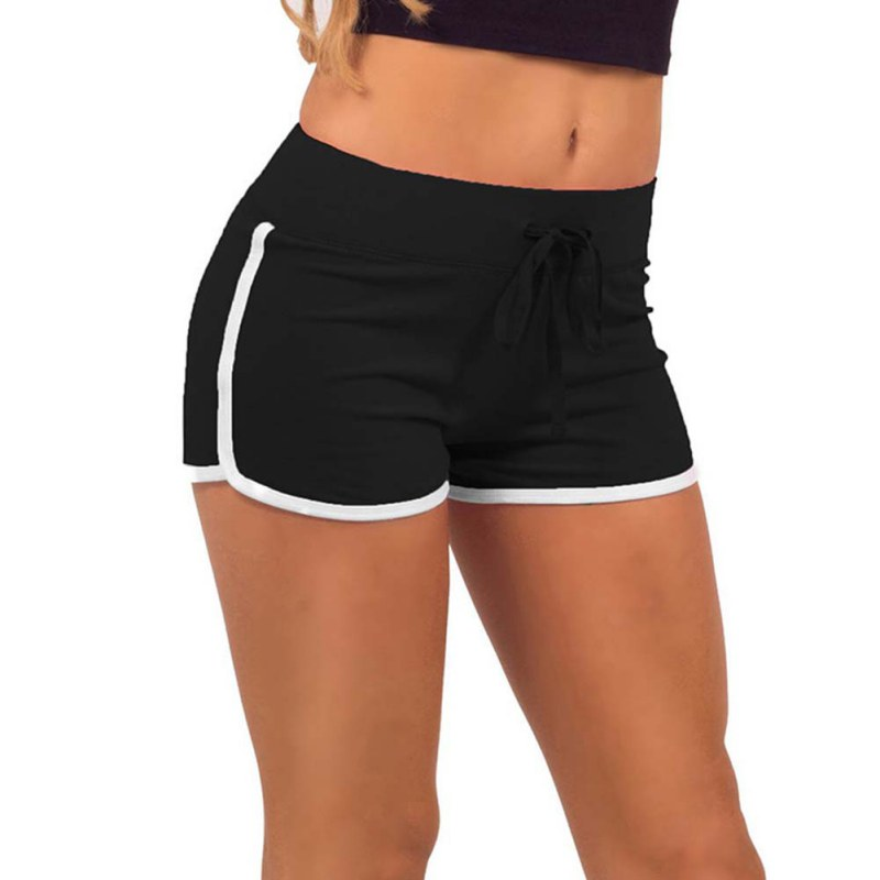 Promotions Women Sport Fitness Shorts Curve Sport Running Yoga For ... ffa0c11513