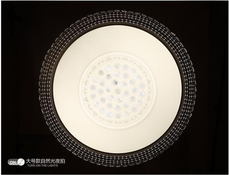 Купить Ecolight Современный Светодиодный Потолочный Светильник Кристалл Заподлицо Металла Акриловые Свет для Гостиной Местный Номер Офиса Свет