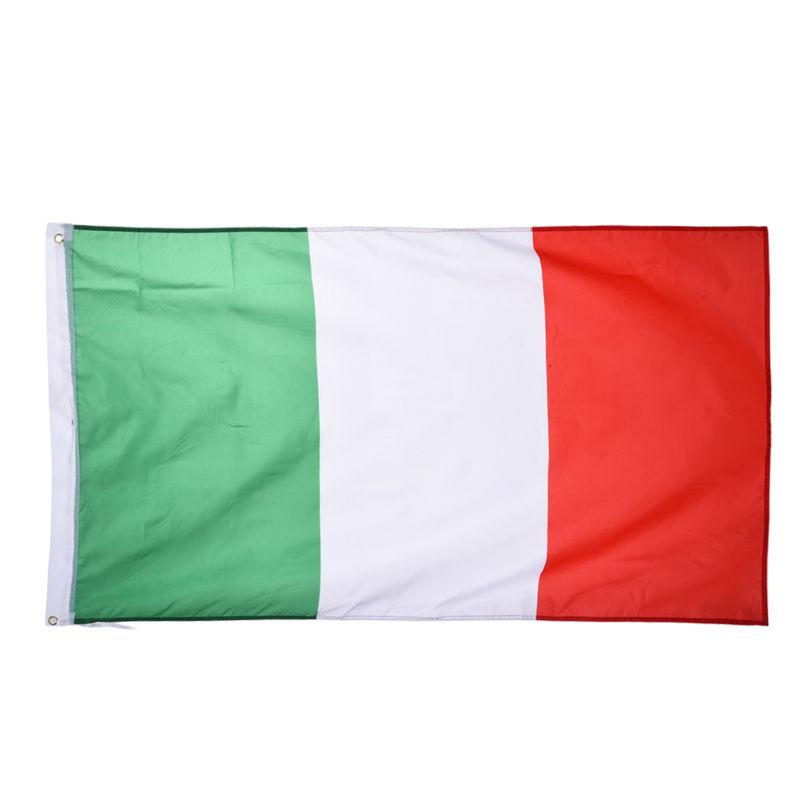 Italie Drapeau National 90*150 cm Pour la Coupe Du Monde/Activité/Défilé/Festival Célébration En Plein Air Décoration de La Maison Drapeaux italiens(China (Mainland))