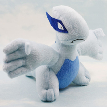 Free Shipping 1pcs Pokemon Character Plush Toy Doll 14cm Pokemon Lugia Plush Toy Soft Stuffed Toys Doll for Children Gift(China (Mainland))