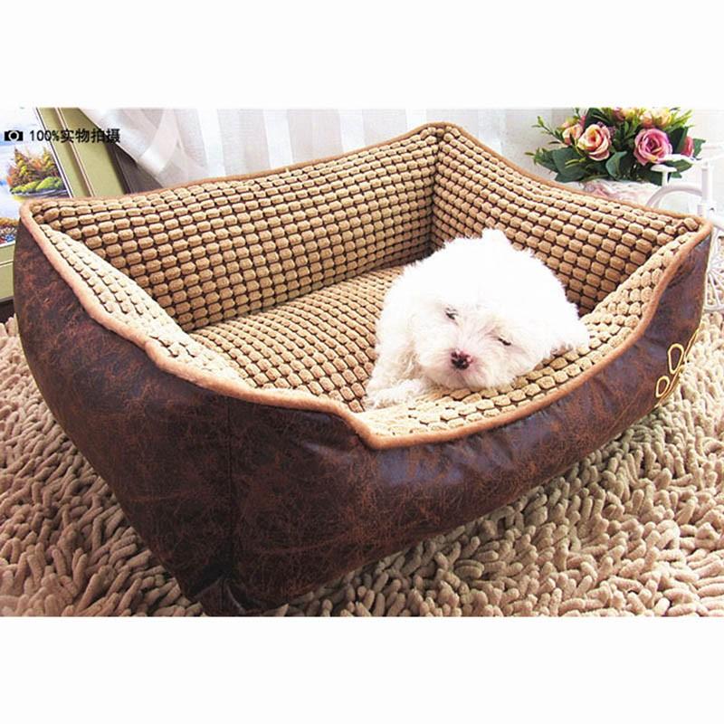 Large Dog Bed Mat Cushion Washable Warm Soft Fleece Pet House Kennel Cushion Luxury Sofa Bed Pet Products PT0027 (18)