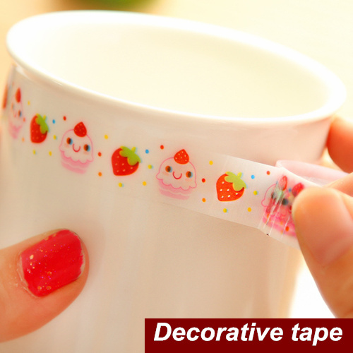 30 pcs/Lot Mini Adhesive tape Decorative tape stickers Stationery for scrapbooking foto Masking tape School supplies 6778(China (Mainland))