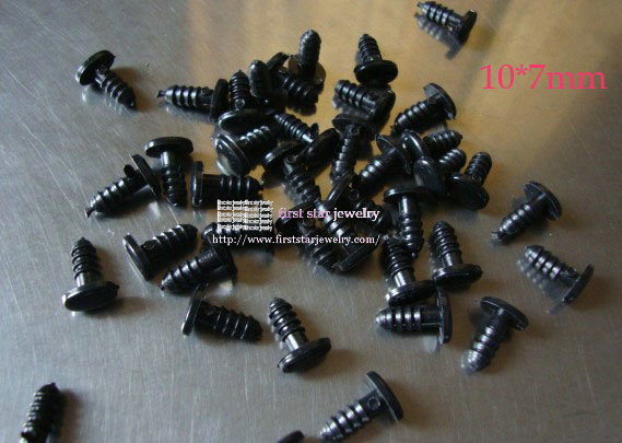 10*7mm oval shape black toy eyes with washers<br><br>Aliexpress