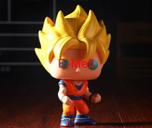 Buy Dragon Ball Cosplay Son Goku 10cm/3.9in Q-version GK Garage Kit Action Figures Model Toys Dolls 14# for $23.55 in AliExpress store
