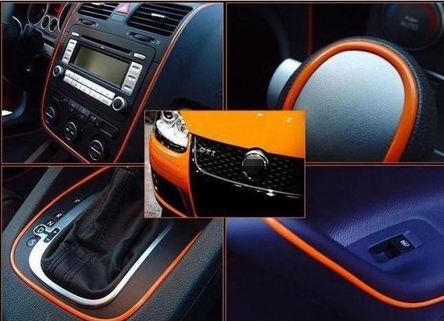 5m Car Decals Sticker Auto Accent Decorative Thread Sticker fit For Toyota corolla reiz camry highlander yaris RAV4 vios series(China (Mainland))