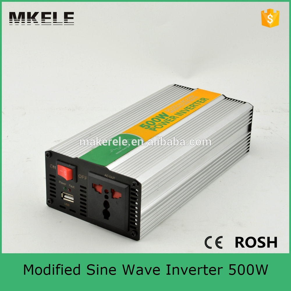 MKM500-122G off grid modified sine wave dc ac power inverter 12vdc to 240vac inverter with 500w solar inverter low cost(China (Mainland))