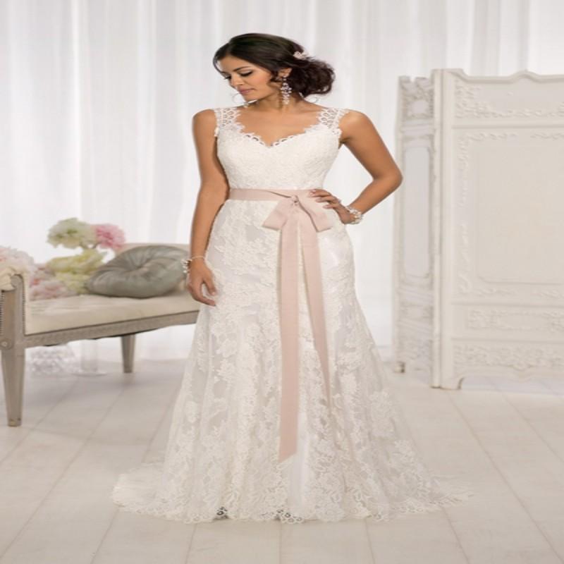 Robe de mariage 2016 sexy fashion charming beautiful women for Country style lace wedding dress