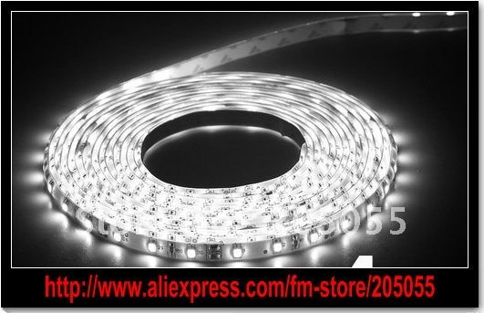 5M 3528 SMD LED Flexible light Strip 300 leds 500cm DC12V Non-Waterproof(China (Mainland))