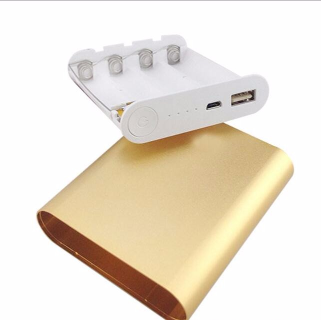 5V 2A Portable 4X 18650 Battery Charger DIY Power Bank Box Case Kit For xiaomi 10400mah  Powerbank for iphone for samsung
