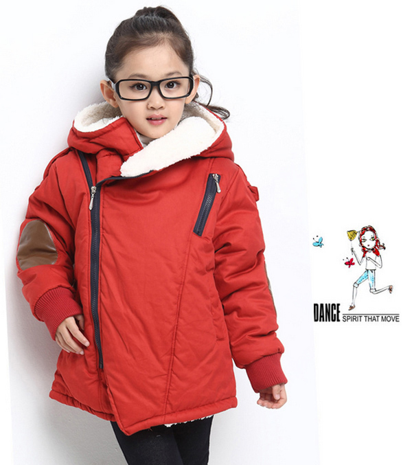 Kid outerwear kids down &amp; parkas hooded long sleeve children unisex coats thickening solid color girls/boys casual down jacket<br><br>Aliexpress