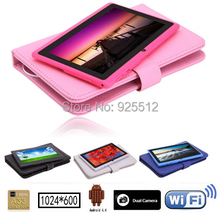 20pcs/lot 7 inch Q88 Best popular Christmas gift for kids Allwinner A33 Quad Core Dual Camera Bluetooth Android WIFI Tablet(China (Mainland))