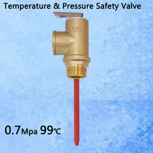 "101PSI 210F TP Valve BSP G3/4"" Temperature and Pressure Relief Valve as TP Safety Valve 0.7Mpa 99 centigrade(China (Mainland))"