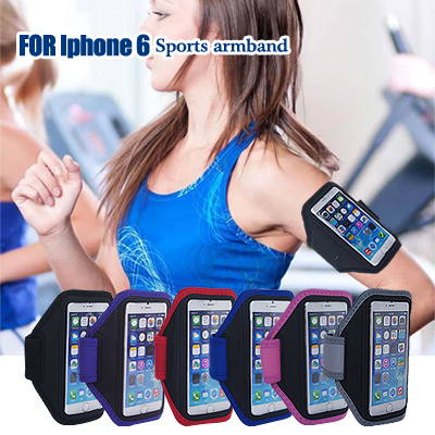 Universal Sweat-proof Sport Running Arm Brands Accessory Case for iphone 6 4.7 For i phone6,Gym Bag S4/S3 Cell Phone Case Cover(China (Mainland))
