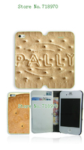 2014 famous sport Hot arrival PU Biscuit wallet leather card foldable case for iphone6 4.7 inch +free shipping