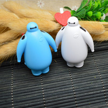 free shipping lowest price mp3 lovely mini big hero baymax mp3 music player with micro tf/sd card slot without accessories