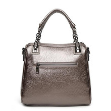New Arrival 2016 Luxury Quality Genuine Leather Bags for Women Tote Shoulder Messenger Bag Fashion Branded