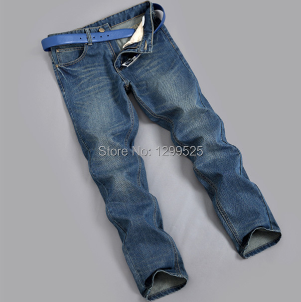 2014 NEW brand men jeans pant casual designer Denim Jeans Pants blue black mens Freeshipping - Best Service for You store