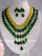 Free ship! Fashion jewelry stone  necklace  necklace bracelet earrings 222(China (Mainland))
