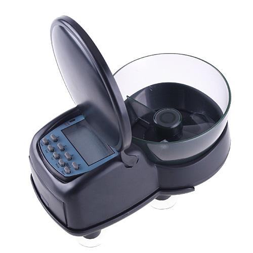 Automatic Fish Feeder Black High Quality Mini Digital Aquarium Tank Fish Food Feeder Timer Quick Settings Easy Use(China (Mainland))