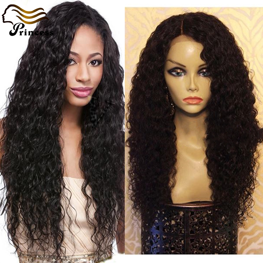 Brazilian Human Hair Full Lace Wig Kinky Curly Unprocess Full Lace Human Hair Wigs For Black Women Natural Color Lace Front Wigs