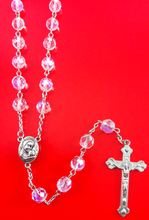 natural stone rosary,Catholic or Christian prayers cross necklace,Jesus religious gifts,