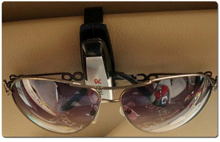 1Pcs Eye Glasses Card paper Pen Holder Clip Car Vehicle Accessory Sun Visor Sunglasses(China (Mainland))