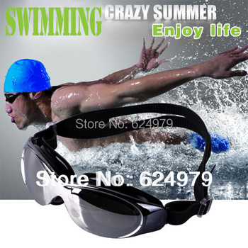 Free shipping Professional Competition Swimming Goggles comfortable uv protection