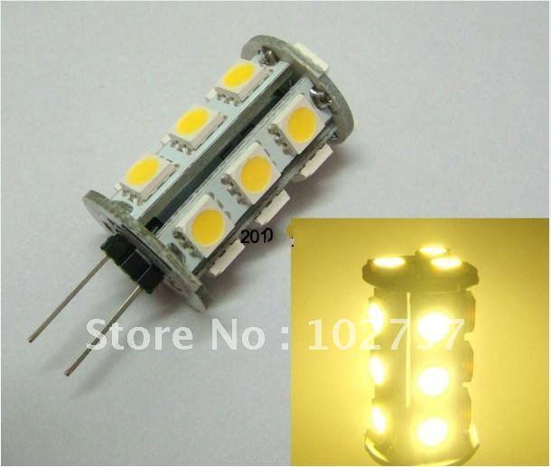g4 gu 5 3 18smd 5050 led diode dc 12v 2 2w lamp light bulb. Black Bedroom Furniture Sets. Home Design Ideas