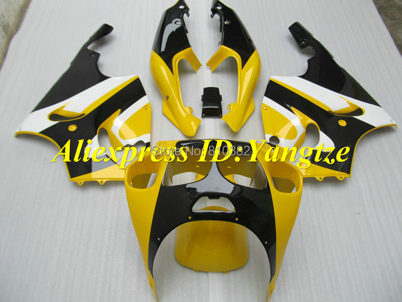 Fairing kit for KAWASAKI Ninja ZX7R 96 97 98 99 00 01 02 03 ZX7R 1996-2003 Yellow gloss black ABS Fairings set +7 gifts SF04(China (Mainland))
