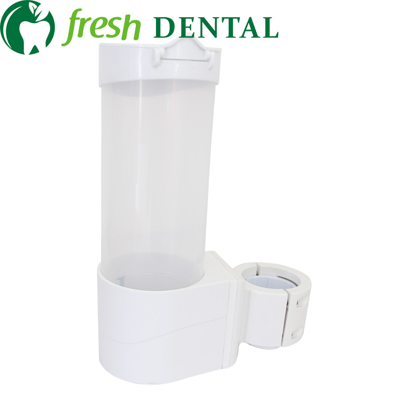 Dental chair transparent white disposable cups tube water dispenser cup holder storage box chair  free shipping<br><br>Aliexpress