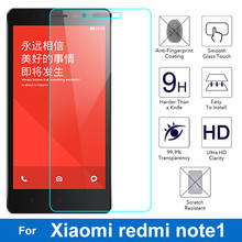 0.26mm Front LCD Explosion-proof Tempered Glass Film For Xiaomi Hongmi Note1 redmi note 1 9H Screen Protector pelicula de vidro