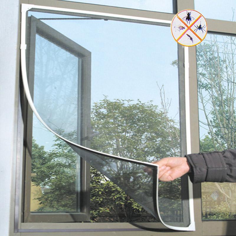 Как сделать москитные сетки на окна своими руками