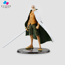 Kissen One Piece Silvers Rayleigh Action Figure 1/8 scale painted figure Dead Or Alive Rayleigh Doll PVC ACGN figure Toy Anime