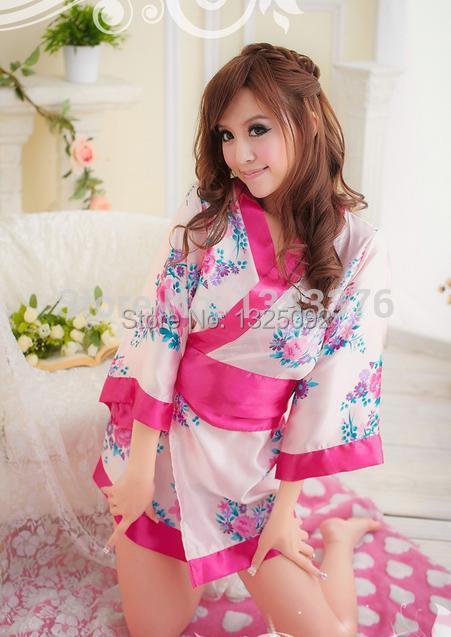 Nightwear Photo nightclub performance clothing uniforms temptation sexy costumes sexy lingerie Japanese kimono-style 32913(China (Mainland))
