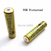 High Capacity Ultrafire BRC 18650 7800mAh 3 7V PCB Protected Rechargeable Lithium ion Battery Cell