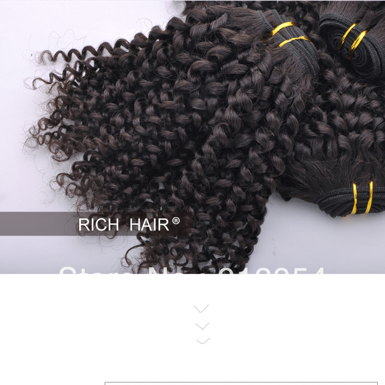 AAAA Hot products 2013 new natural color brazilian kinky curly virgin hair /100g/pack /2pack /lot<br><br>Aliexpress