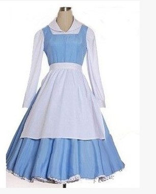 Related Keywords &amp- Suggestions for Belle Blue Dress Costume For Women