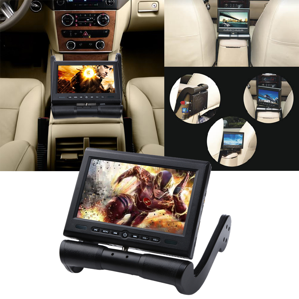 Car Video 8.5 Inch Car DVD Player Monitor TFT LCD Screen Armrest Monitor Center Console DVD/CD/SD/USB Touch Button for VW Audi(China (Mainland))